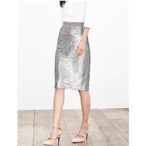 🌟 Banana Republic Sequined Pencil Skirt 🌟